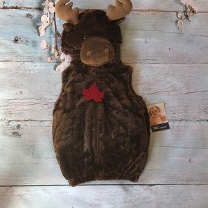 Moose costume 12 months